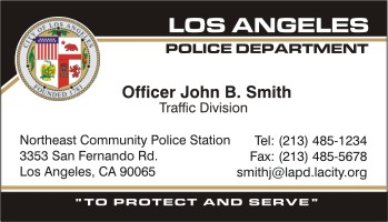 Policebusinesscards display business cards click to order this card reheart Images