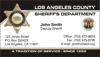 Policebusinesscards display business cards click to order this card country united statesremoved region california city los angeles reheart Images