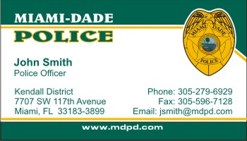 Policebusinesscards display business cards click to order this card reheart Choice Image