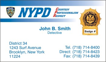 New orleans police business cards choice image card design and new orleans police business cards choice image card design and nypd business cards online gallery card accmission Image collections